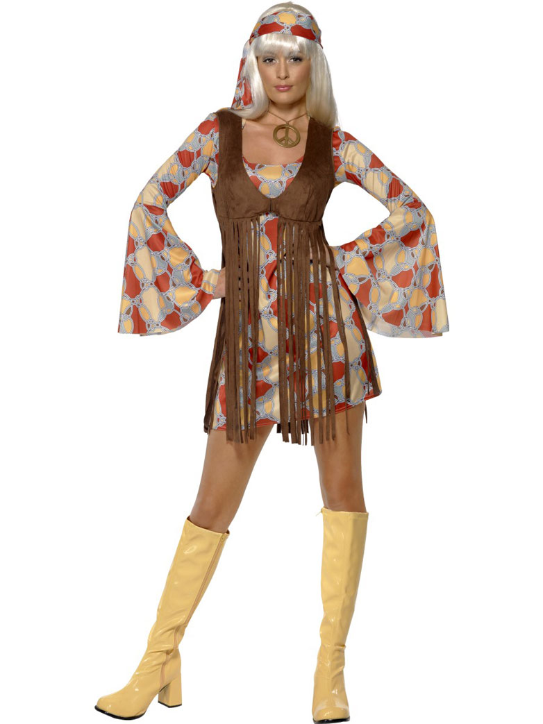 groovy hippie outfit - fancy dress and party