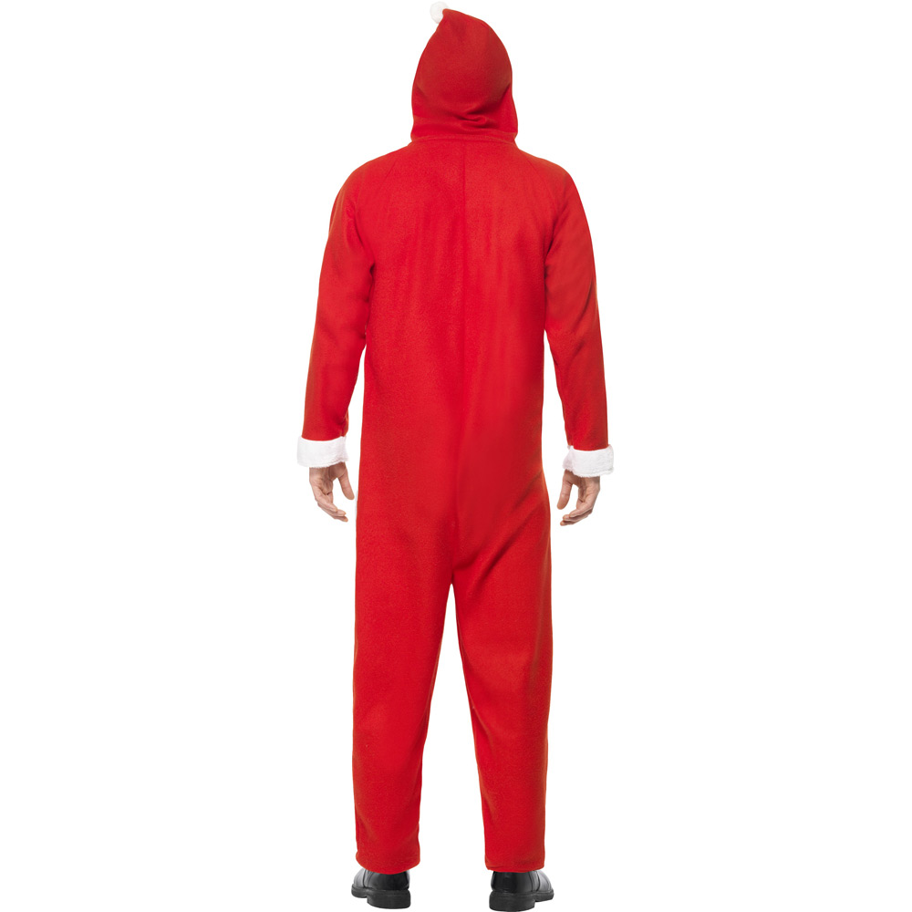 1a3480023324 Adults Santa Claus Onesie Costume - Fancy Dress and Party