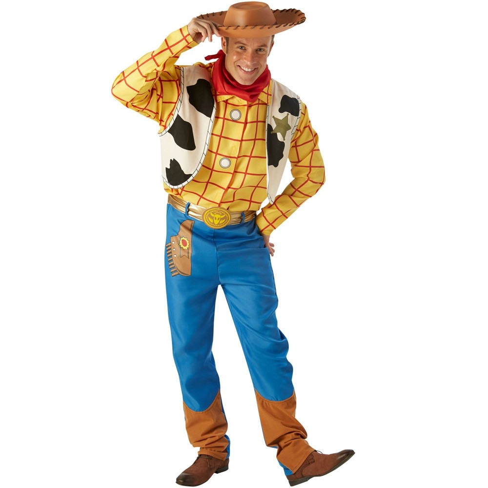 More Views. Adult Woody Costume ...  sc 1 st  Fancy Dress and Party : woody costume adults  - Germanpascual.Com