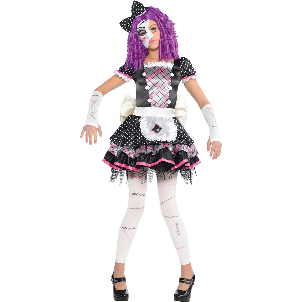 broken doll costume - fancy dress and party