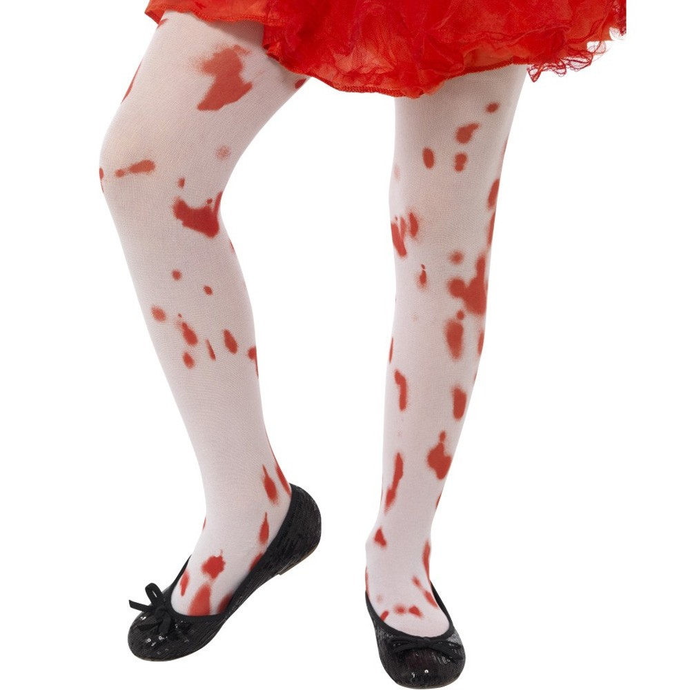 girls bloody tights - fancy dress and party