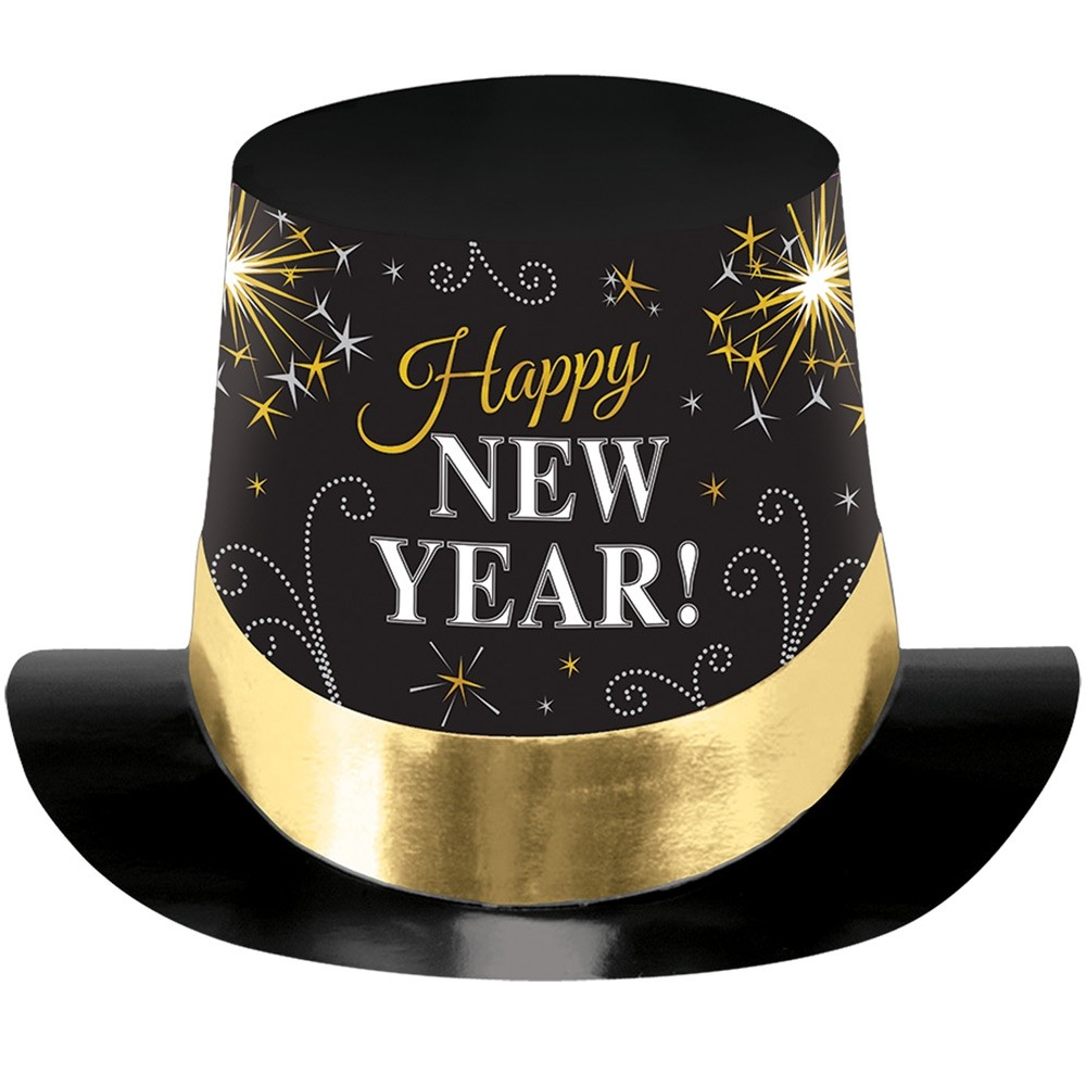 Happy New Year Hat - Fancy Dress and Party