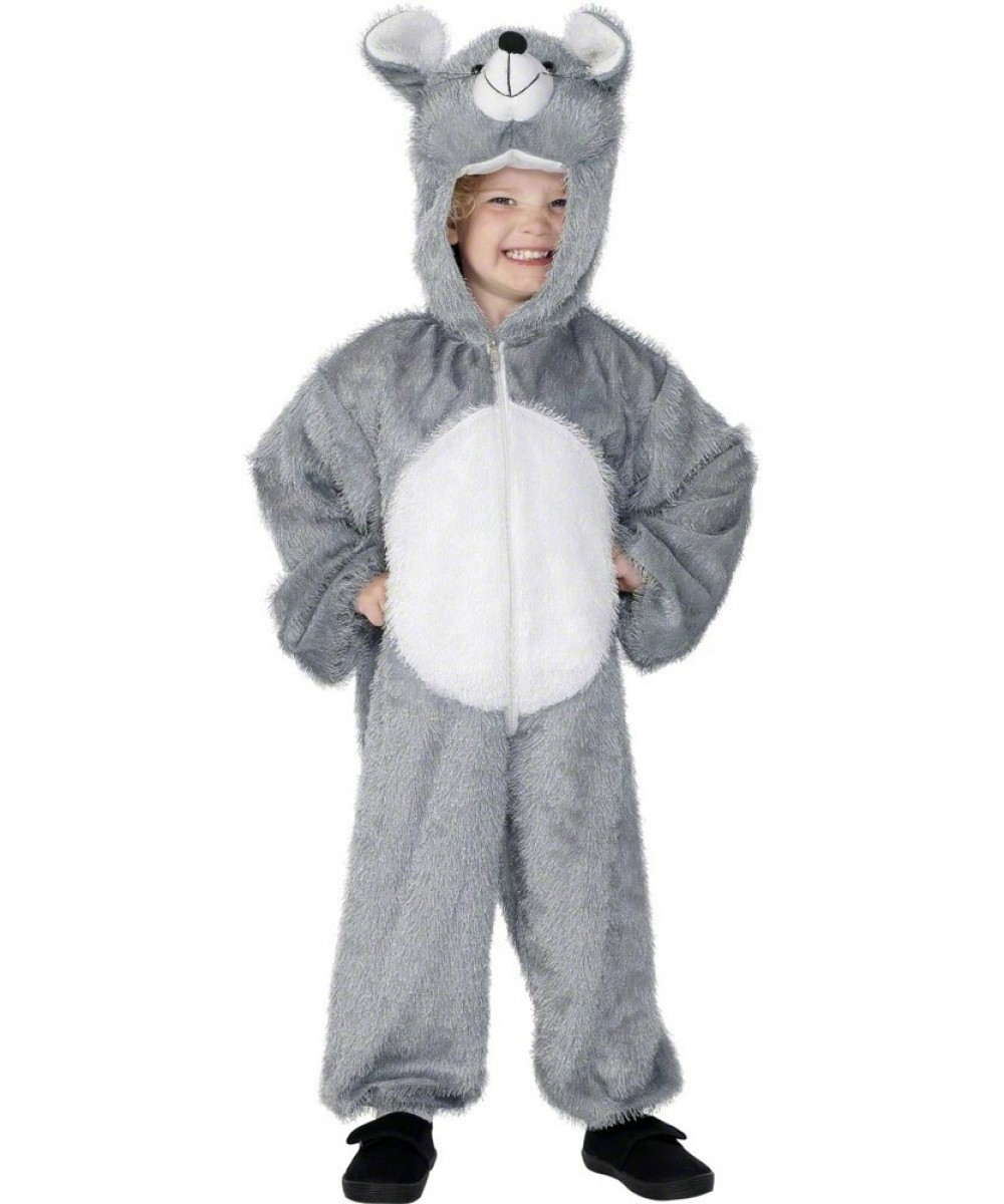 Baby Toddler Boys Girls Fluffy Mouse Animal Book Day Fancy Dress Costume Outfit