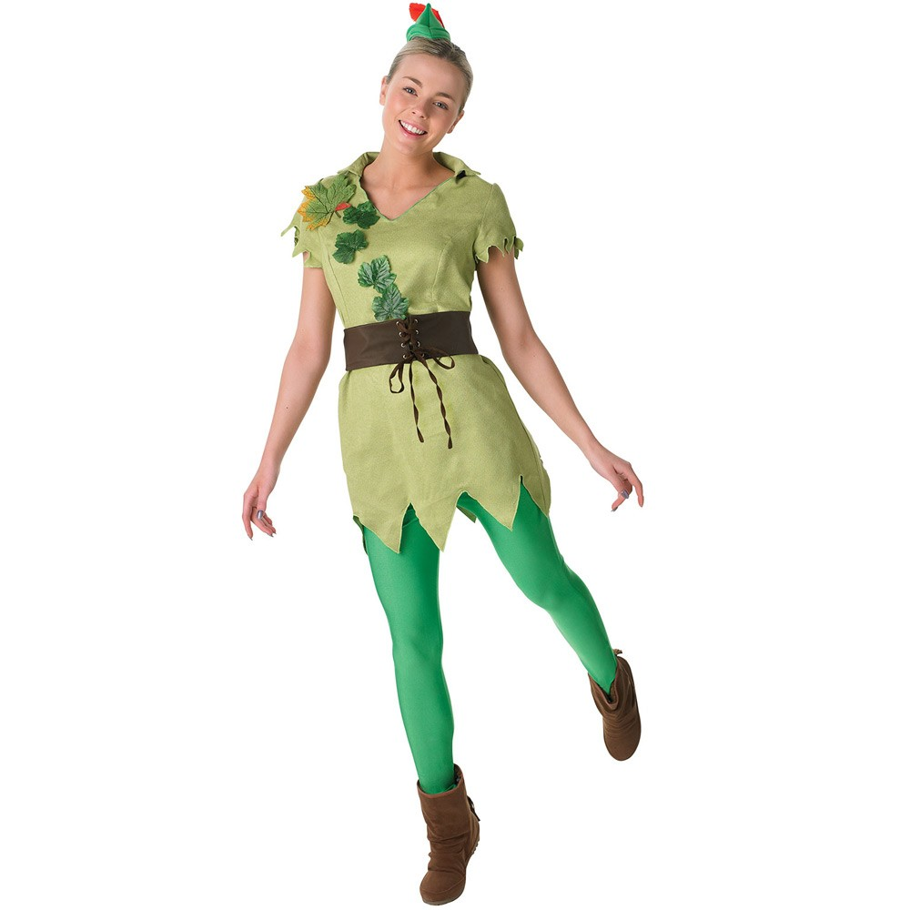 73cf9033fb5a6 Ladies Peter Pan Costume - Fancy Dress and Party