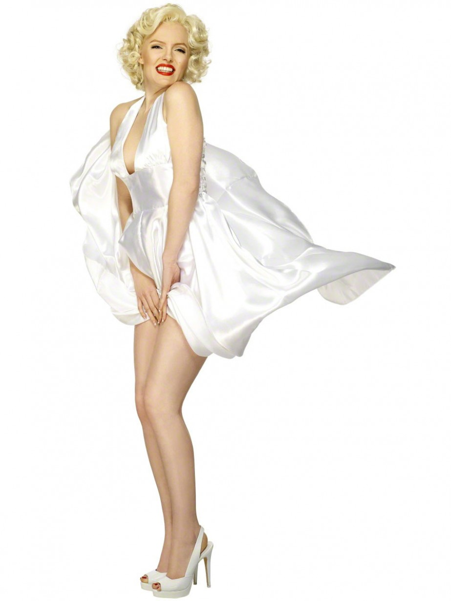 Official Marilyn Monroe Costume Fancy Dress And Party