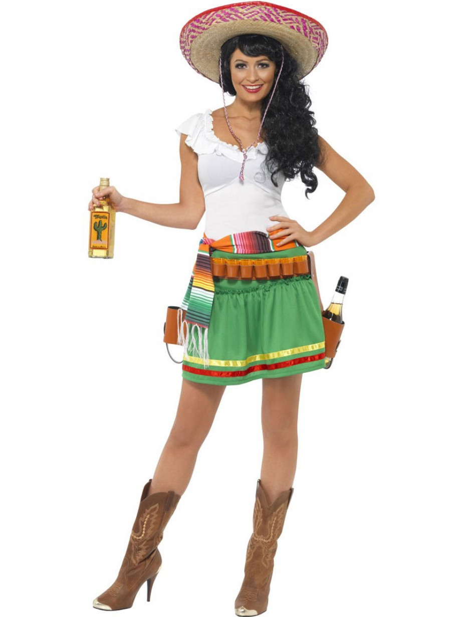 5c10ed4972b8 Mexican Lady Costume - Fancy Dress and Party