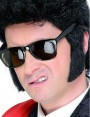 50s Black Sideburns at Fancy Dress and Party