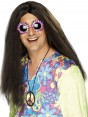 Brown Hippy Wig at Fancy Dress and Party