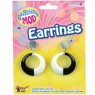 60s Mod Earrings at Fancy Dress and Party