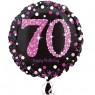 70th Birthday Balloon at Fancy Dress and Party