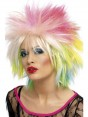 80s Attitude Neon Wig at Fancy Dress and Party