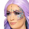 Adhesive Face Gems at Fancy Dress and Party