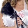 Black Feather Duster at Fancy Dress and Party