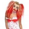 Blonde Blood Drip Wig at Fancy Dress and Party