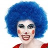 Blue Clown Wig at Fancy Dress and Party
