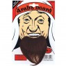 Brown Arab Beard at Fancy Dress and Party