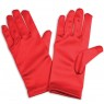 Childrens Red Gloves at Fancy Dress and Party
