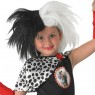 Childs Cruella De Vil Wig at Fancy Dress and Party