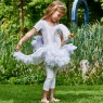 Childs Swan Costume at Fancy Dress and Party