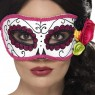 Day of the Dead Eye Mask at Fancy Dress and Party