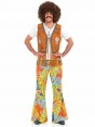 Floral 60s Flares at Fancy Dress and Party