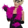 Fuchsia Pink Feather Boa at Fancy Dress and Party