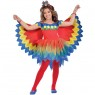Girls Parrot Costume at Fancy Dress and Party