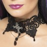 Gothic Lace Choker at Fancy Dress and Party