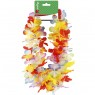 Hawaiian Multi Coloured Lei Bunting at Fancy Dress and Party