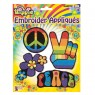 Hippy Appliques Set at Fancy Dress and Party