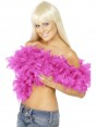 Hot Pink Feather Boa at Fancy Dress and Party