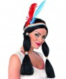 Indian Woman Wig at Fancy Dress and Party