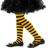 Kids Bumblebee Tights at Fancy Dress and Party