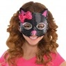 Kids Cat Sequin Mask at Fancy Dress and Party