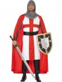 Knight Costume Front at Fancy Dress and Party