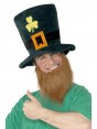 Leprechaun Hat and Beard at Fancy Dress and Party