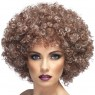 Light Brown Afro Wig at Fancy Dress and Party