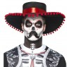 Mens Day of the Dead Make Up Kit Final View at Fancy Dress and Party