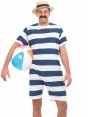 Mens Old Time Bathing Suite at Fancy Dress and Party