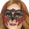 Metal Filigree Mask at Fancy Dress and Party