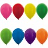 Metallic Assorted Colours Latex Helium Balloons at Fancy Dress and Party