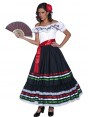 Mexican Senorita Costume Front at Fancy Dress and Party