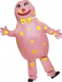 Mr Blobby Costume Front View at Fancy Dress and Party