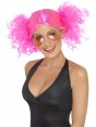 Neon Pink Bunches Wig at Fancy Dress and Party
