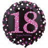 Pink 18th Birthday Balloon at Fancy Dress and Party