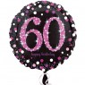 Pink 60th Birthday Balloon at Fancy Dress and Party