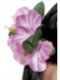 Pink Flower Hair Clip at Fancy Dress and Party