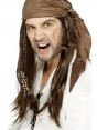 Pirate Wig With Bandanna at Fancy Dress and PArty