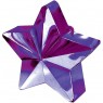 Purple Star Balloon Weight at Fancy Dress and Party