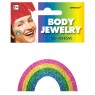 Rainbow Temporary Tattoo at Fancy Dress and Party